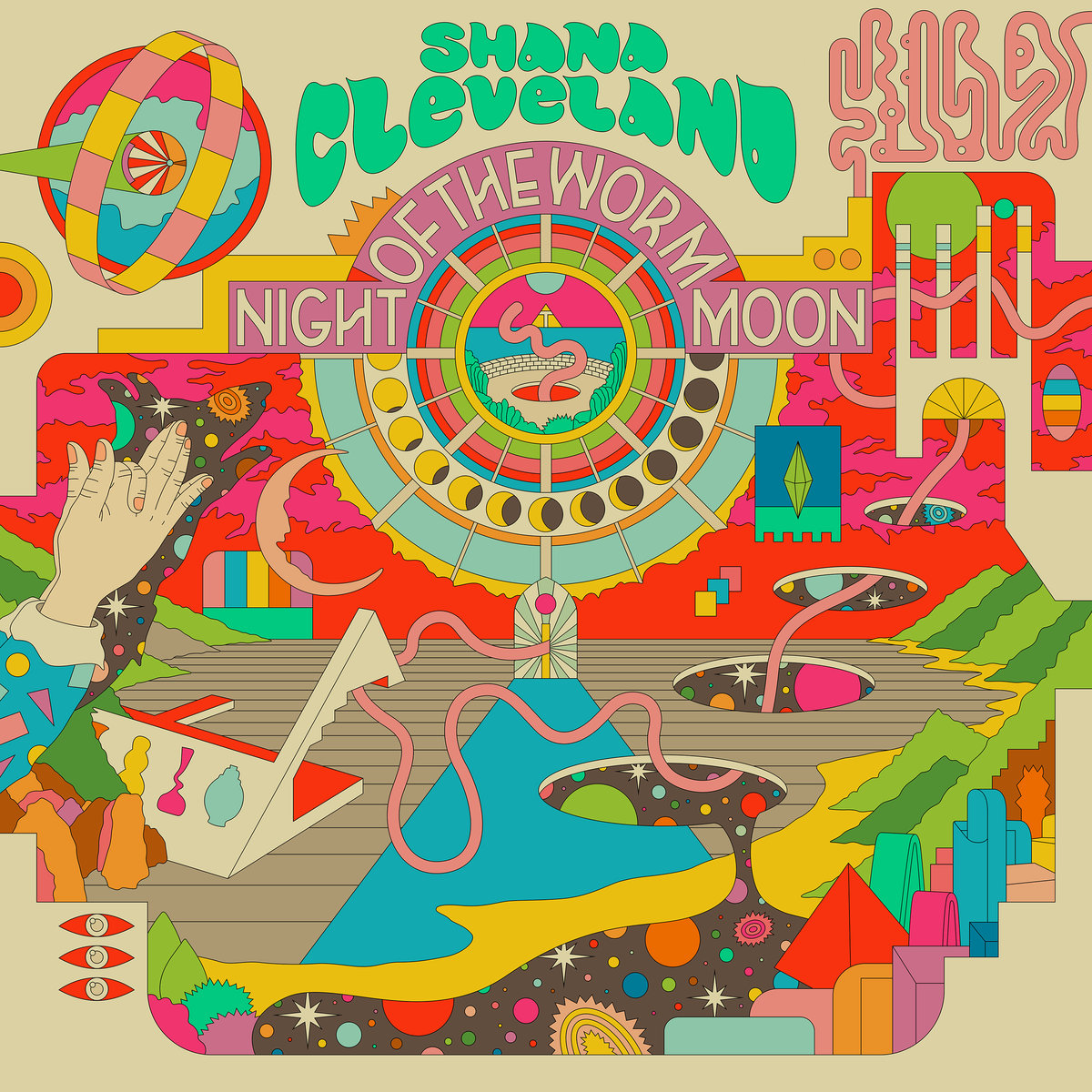 SHANA CLEVELAND - NIGHT OF THE WORM MOON -buythewax