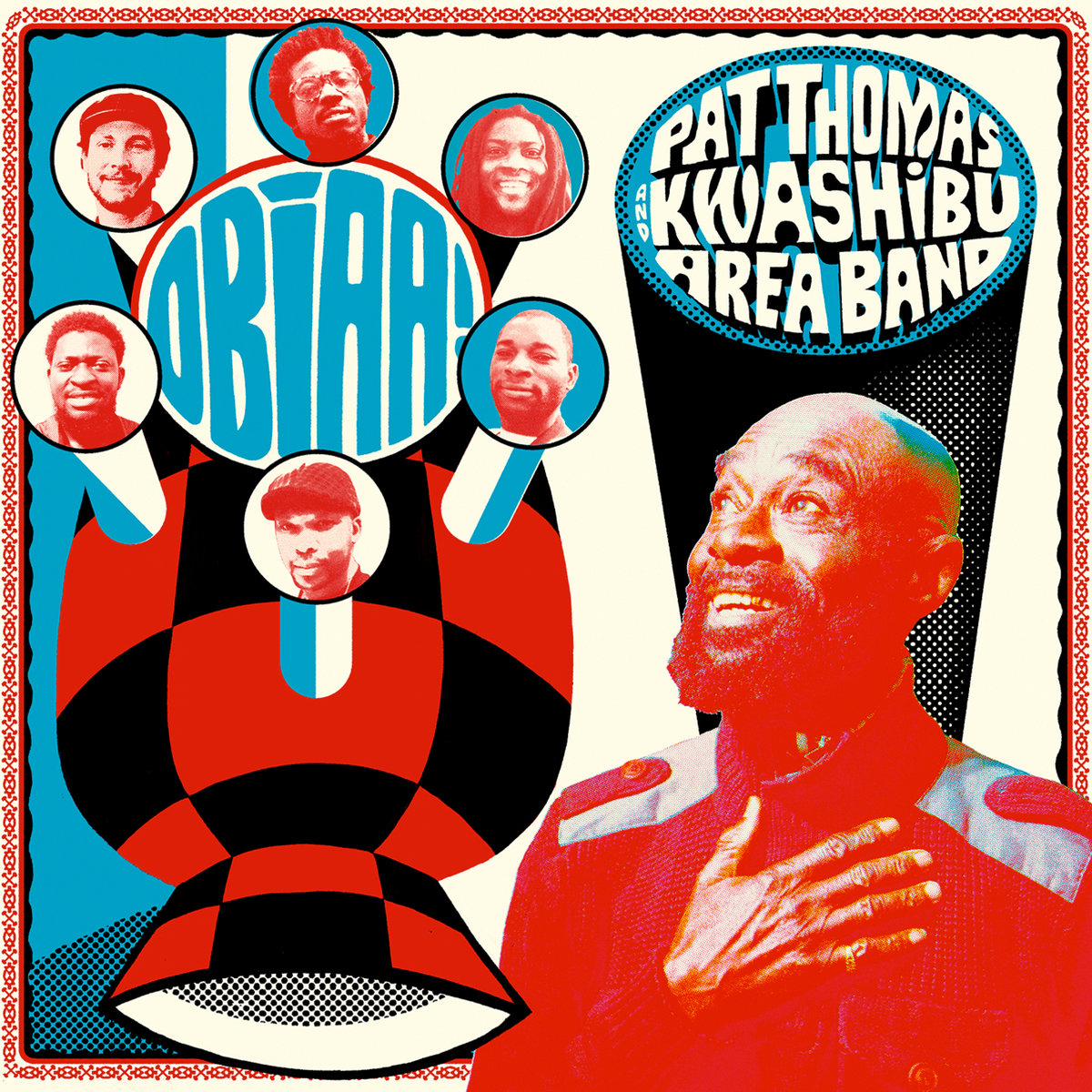 PAT THOMAS & KWASHIBU AREA BAND - OBIAA! -buythewax